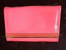 Ted Baker London 'Tomoko Quilt' Bright Pink Patent iPad Case w/Strap NWT $129