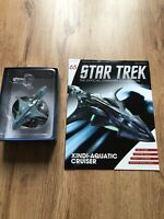 Eaglemoss Star Trek Issue 65 - Xindi Aquatic Cruiser, Diecast Model & Magazine