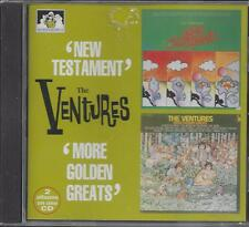 "The Ventures- Sealed ""New Testament/More golden greats"" 2 on 1 CD, 1997, UK NEW!"