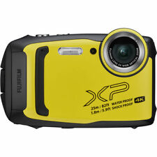 Fujifilm FinePix XP140 Waterproof Digital Camera (Yellow) - Open Box!