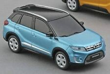 NEW Genuine Suzuki VITARA Pull Back Car Toy Model TURQUOISE Car 99000-990K4-VTR