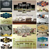 Islamic Word Calligraphy 5 Pcs Canvas Wall Art Poster Paint Picture Home Decor