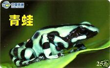 FROGS CHINESE PHONE CARD, CHINA TIETONG, VERY HARD TO FIND, N° 2