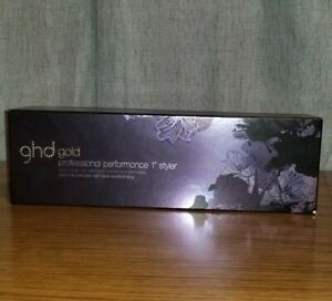 Nocturne Gold Styler Flat Iron by GHD for Unisex 1 Inch Flat Iron - New Open Box