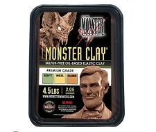 Monster Clay Premium Grade Modeling Clay - Hard - (4.5lb Tub) - NEW SIZE
