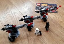 Lego Star Wars- 3 Death Star Cannons with figures