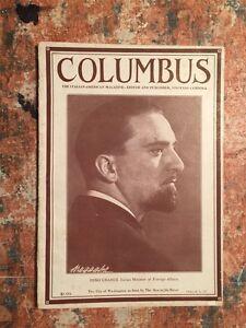 Columbus The italian-american magazine Vol.LV Gennaio 1932 n.1 RIVISTA FASCISMO