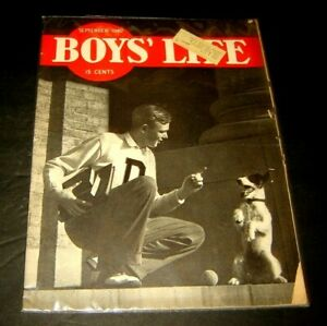 Boys' Life Magazine SEPTEMBER 1940 - Advertising Coca Cola Boy Scouts Comic