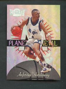 1997-98 Metal Universe Planet Metal Anfernee Hardaway Orlando Magic