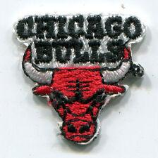 "CHICAGO BULLS NBA BASKETBALL TINY 1"" TEAM LOGO PATCH"