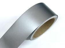 Zierstreifen 12 mm silber matt Zierlinie Dekorstreifen Warnstreifen mattsilber