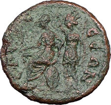 GORDIAN III 238AD Odessos Thrace Roman Coin Fortuna crowns Athena Cult   i21769