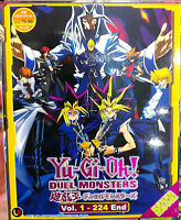 Yu-Gi-Oh! Duel Monsters (Chapter 1 - 224 End + Movie) ~ 9-DVD SET ~ English Sub