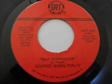 GEORGE HAMILTON IV NM Bad Romancer 45 Blue Jeans Ice Cream & Saturday Shows GRT