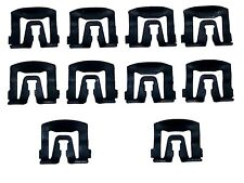 68-96 Ford Front Windshield Rear Window Moulding Molding Trim Clip Clips 10pc NN