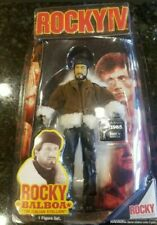 Rocky Balboa 4 Figure Mint Training Gear Sylvester Stallone