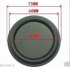 "2pcs 3""inch 75MM Bass diaphragm Bass passive board Speaker Bass Film"