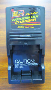 New Bright  6.4/9.6 Volt Lithium Ion Battery Charger Model A587500493, Used