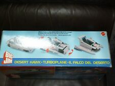 BIG JIM MATTEL TURBO PLANE GLOBAL COMMAND NEVER PLAYED WITH 1986 FOREIGN