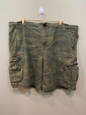 Faded Glory Green Camouflage Cargo Shorts Men's Size 48