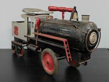 VINTAGE 1920s KEYSTONE RAILROAD 6400 RIDE ON LOCOMOTIVE TOY NO RESERVE #10004