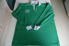 Maillot de rugby vintage Challenge de l'Espoir Le Roc  XXL vert Rocsport porté