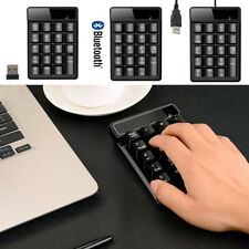 19 Key 2.4G Wireless Bluetooth Number Pad Numeric Keypad For Tablet Laptop