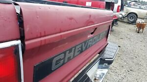 1989 REAR TAIL GATE CHEVY S10 Pickup  2DR  - Clean & Straight!