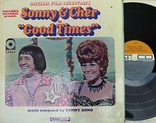 Sonny & Cher ORIG US OST LP Good times VG+ '67 Atco 33214 MONO Folk Psyche Pop