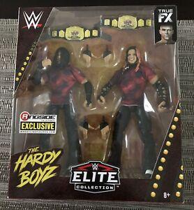 Matt Hardy Jeff Hardy Hardy Boyz Mattel WWE Elite Ringside Action Figure NIB
