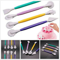 Fondant Cake Decorating Tools Flower Carving Pastry Cutter Part Accessories QK