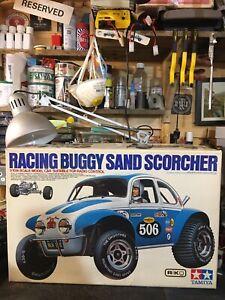 Tamiya Vintage Sandscorcher Box Only 1982 Not Rere Srb Rc Car Spares Parts Old
