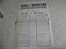 1970.Sav Breiz organe du combat breton N°2.