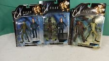 LOt of 3 The X Files Attack Alien Series 1 Figurine Mcfarlane Toys