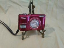 Nikon COOLPIX L26 Digital Camera 16.1MP 4.6-20mm Nikkor 5X Zoom Good Condition