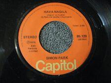 "Simon Park hava nagila / 7 48 stomp - 45 Record Vinyl Album 7"""