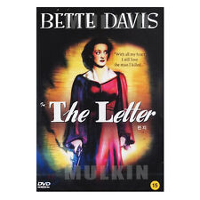 The Letter (1940) New Sealed DVD - William Wyler, Bette Davis, Gale Sondergaard