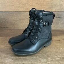 NEW UGG WOMEN'S KESEY BOOTS 1005264 BLACK SIZE 6.5 US SELLER