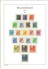 Einmalige Luxus Berlin Sammlung 1948-1980 komplett ** postfrisch - Schlegel BPP