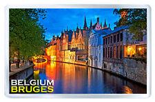 BRUGES BELGIUM FRIDGE MAGNET SOUVENIR IMAN NEVERA
