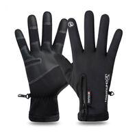 Winter Warm Cycling Sports Gloves Bicycle MTB Bike Gloves Full Finger Waterproof