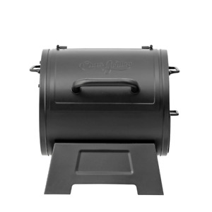 Char-Griller Portable Charcoal Grill Side Fire Box Heavy Duty Outdoor Cooking