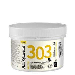 Naissance Kakaobutter unraffiniert BIO - 250g - feuchtigkeitsspendend vegan