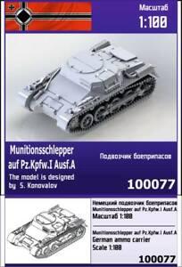 """""""ZEBRANO"""" 100077 Munitionsschlepper auf Pz.Kpfw.I Ausf. A German ammo carrier"""