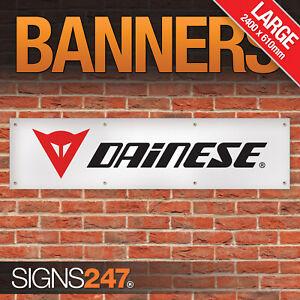 Dainese Motorcycle Clothing Garage Workshop Banner LARGE Sign Display Motorsport