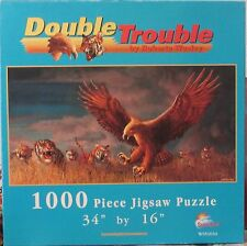 DOUBLE TROUBLE BY ROBERTA WESLEY (Complete) SUNSOUT PUZZLE