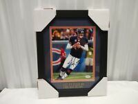 Jay Cutler Chicago Bears Autographed 8x10 Photo Framed & Matted JSA
