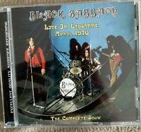 """BLACK SABBATH : """"Live at Lausanne 1975"""" (RARE CD)"""