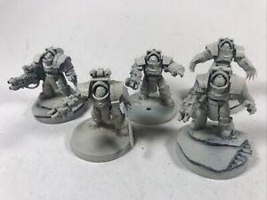 5 Cataphractii Terminators Primed Space Marines Warhammer 40k 30k E2