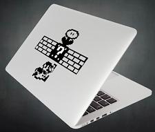 Mario Sticker Brick Question Box Decal Apple MacBook Mac iPad Laptop Car Window